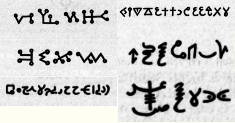 Talismans Symbols